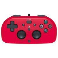 Mini Manette filaire rouge Hori pour PS4