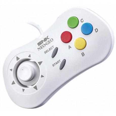 Manette blanche Neo Geo Mini