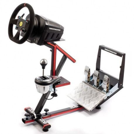69DB Support Wheel Stand EVO - Pour volant, pedalier et boite de vitesse - Compatibilite Thrustmaster / Logitech