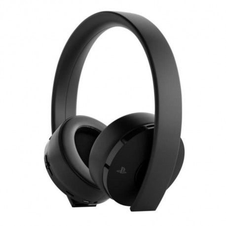 Casque Sans Fil Gold Sony Virtual Surround Sound 7.1 pour PS4 - Optimise PS VR