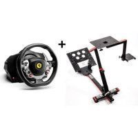 Volant Ferrari Racing Wheel Italia XBOX One PC + 69DB Support Wheel Stand EVO OFFERT