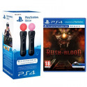 Pack Paire de PlayStation Move + Until Dawn Rush of Blood