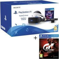 PlayStation VR + PlayStation Camera + 2 Jeux PS4 : VR Worlds + Gran Turismo Sport