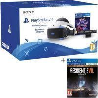 PlayStation VR + PlayStation Camera + 2 Jeux PS4 : VR Worlds + Resident Evil 7: Biohazard Gold Edition