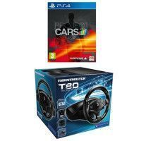 Pack Project Cars Jeu PS4 + Volant T80 PS4