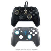 PDP Manette filaire Zelda noir compatible Xone