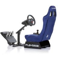 PLAYSEAT Siege simulation automobile EVOLUTION SONY - Alcantara - Bleu