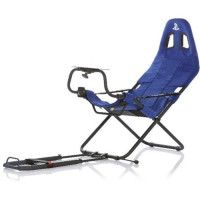 PLAYSEAT Siege simulation automobile CHALLENGE SONY - Alcantara - Bleu
