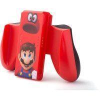 Nintendo Switch Poignee ergonomique - Mario Odyssey - Rouge