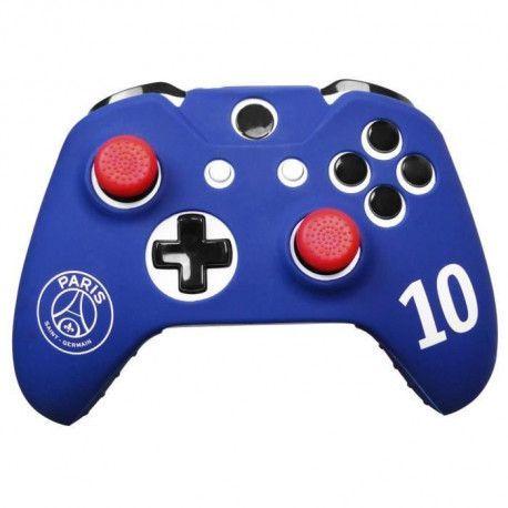 Housse de protection PSG Numero 10 Neymar pour manette Xbox One + Xbox One X
