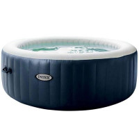 INTEX Pure spa 4 places bulles Led 196x71cm