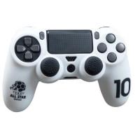 Housse de protection Blanche en silicone pour manette PS4