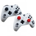 Housse de protection Blanche en silicone pour manette Xbox One, Xbox One X