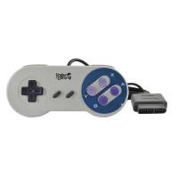 Manette filaire Super Nintendo Grise Under Control