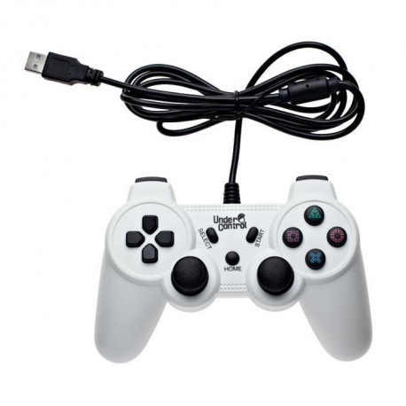Manette Filaire Blanche PS3 Under Control