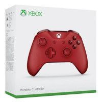 Manette Xbox One Sans Fil Rouge