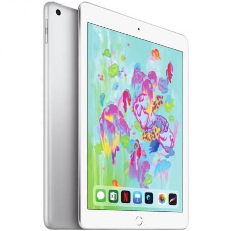 APPLE iPad MR6P2NF/A - Ecran Retina 9,7 - 32Go - Wi-Fi + Cellular - Argent - 6eme Generation