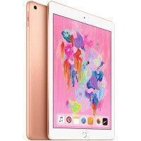 APPLE iPad MRM22NF/A - Ecran Retina 9,7 - 128Go - Wi-Fi + Cellular - Or - 6eme Generation