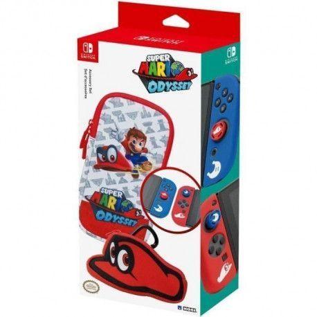 Set daccessoires Mario Odyssey pour Nintendo Switch