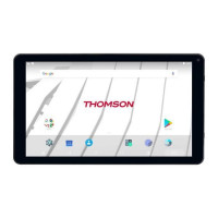 THOMSON Tablette Tactile - TEO10-RK1BK16 - Ecran 10.1 HD - RAM 1 Go - Android 7.1 - CPU Rockship RK3126 - Stockage 16Go - Wifi +