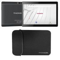 THOMSON Tablette tactile TEO10S-RK2BK32S 10.1 - RAM 2Go - Android 7,1 - Quad Core CPU - Stockage 32Go - Wifi + Housse