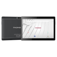 THOMSON Tablette tactile TEO10S-RK2BK64S 10.1 - RAM 2Go - Android 7,1 - Quad Core CPU - Stockage 64Go - Wifi + Housse