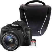 CANON EOS 100D + 18-55 IS STM + Sacoche + Carte 8 Go