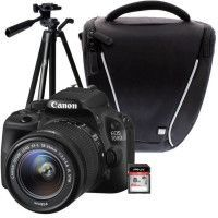 CANON EOS 100D + 18-55 IS STM + Trepied + Sacoche + Carte 8 Go