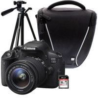CANON EOS 700D + 18-55 IS STM + Trepied + Sacoche + Carte 8 Go