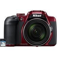 NIKON COOLPIX B700 Appareil photo Bridge rouge + Carte memoire SDHC 8 Go