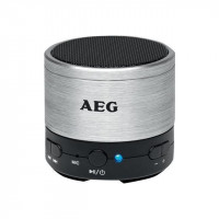 AEG BSS 4826RD Enceinte Bluetooth - Aux-In - 400mah - Rouge