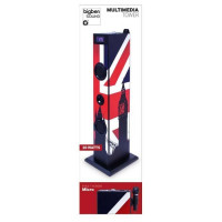 BIGBEN TW5GB Tour de son multimedia avec micro - 2 x 10W RMS - Port USB - Great Britain