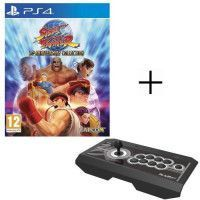Pack PS4: Jeu Street Fighter 30th Anniversary Collection + Joystick Real Arcade Pro 4 KAI