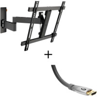 Pack VOGELS WALL3245 Support Orientable - 32 a 55 - 20kg max + Cable HDMI 2.0 UHD