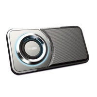 CALIBER HSG314BT Enceinte Bluetooth portable compacte avec batterie integree - 3 W - Argent