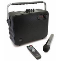 CALIBER HPG517BT Enceinte portable Bluetooth portable avec batterie integree et option Karaoke Sing-Along