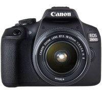 CANON EOS 2000D 24,1 megapixels - Wi-Fi - NFC + Objectif EF-S 18-55 IS II