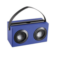 CLIPSONIC TES169B Enceinte Bluetooth - Bleu