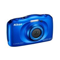 NIKON COOLPIX W100 - Appareil photo numerique compact - Resolution de 13,2Mp - Video Full HD - Etanche jusqua 10m -  Bleu