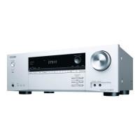 ONKYO TX-NR474 Ampli-tuner A/V reseau 5.1 canaux - Bluetooth - Dolby Atmos - Silver