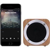 PLATYNE EN 34 Enceinte portable Bluetooth Vintage - Chene clair