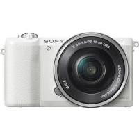 Appareil Photo Hybride A5100LW  + Objectif 16-50mm - Capteur APS-C - 24 Mpix - Autofocus Rapide - Blanc