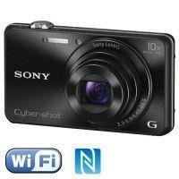 SONY DSC-WX220 Noir - CMOS 18 MP Zoom 10x Appareil photo numerique Compact