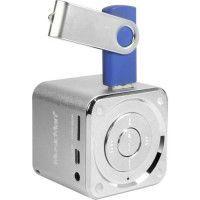 MUSICMAN MINI SOUNDSTATION Mini Enceinte portable avec lecteur MP3 integre, port USB et fente carte micro SD jusqua 32 GB - Arge