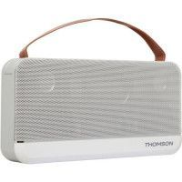 THOMSON WS03 Speaker Bluetooth - Grande taille - Blanc