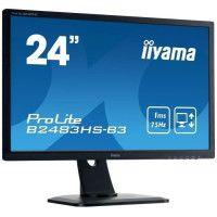 IIYAMA Ecran 24 - Full HD - LED - 1 ms - 75Hz - VGA/DP/HDMI