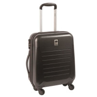VISA DELSEY Valise Cabine Trolley 50 cm 4 roues CALEO HARD Anthracite