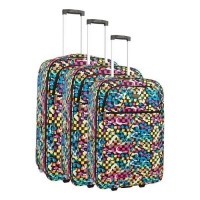 COMPAGNIE DU BAGAGE - Lot de 3 valises 49/59/69cm - Imprime