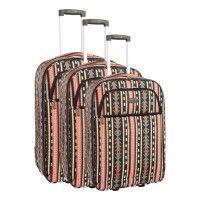COMPAGNIE DU BAGAGE - Lot de 3 valises 49/59/69cm - Marron