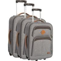 COMPAGNIE DU BAGAGE - Lot de 3 valises 51/61/71cm - Gris